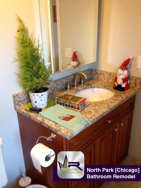 North Side Bathroom Remodel - 3900 W Bryn Mawr Ave, Chicago, IL 60659 by Regency Home Remodeling