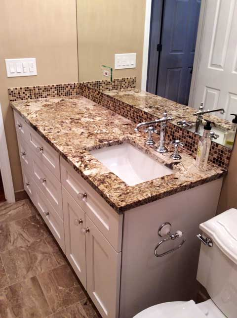 Boys Town Bathroom Remodel - 917 W Roscoe St, Chicago, IL 60657 by Regency Home Remodeling