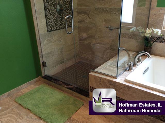Bathroom Remodel In Hoffman Estates Regency Home Remodeling - Bathroom remodeling wheaton il
