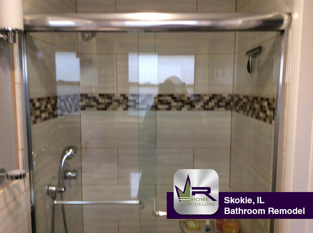Bathroom Remodel - 8750 N Springfield Ave, Skokie, IL 60076 by Regency Home Remodeling