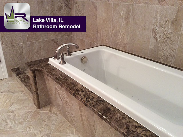 Bathroom Remodel - 1013 Rainy Lake Ct, Lake Villa, IL 60046 by Regency Home Remodeling