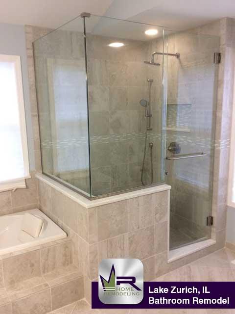 Bathroom Remodel - 600 Riley Ln, Lake Zurich, IL 60047 by Regency Home Remodeling