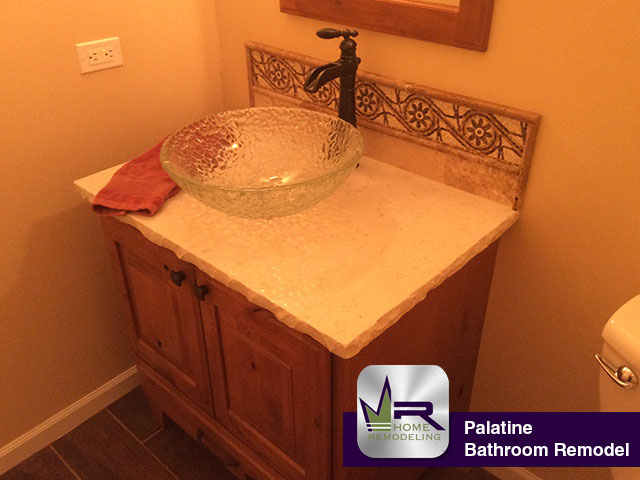 Bathroom Remodel - 1229 W Groh Ct, Palatine, IL 60007 by Regency Home Remodeling