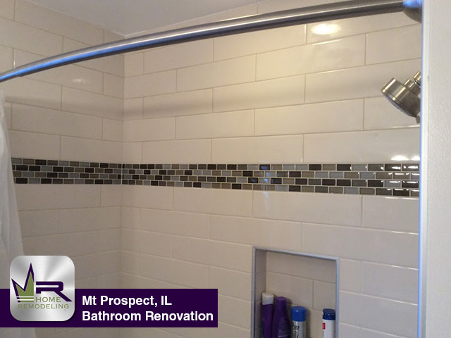 Bathroom Remodel - 214 S. Main St, Mount Prospect, IL 60056 by Regency Home Remodeling