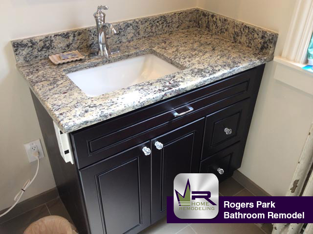 Bathroom Remodel - 6549 N Bosworth Ave, Chicago, IL 60626 by Regency Home Remodeling