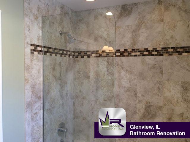 Bathroom Remodel - 1041 Longmeadow Dr, Glenview, IL 60025 by Regency Home Remodeling