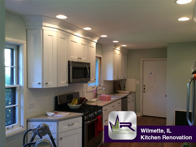 Kitchen Remodel - 2919 Hawthorn Ln, Wilmette, IL 60091 by Regency Home Remodeling
