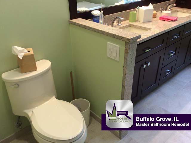 Master Bathroom Remodel - 525 Cherbourg Dr, Buffalo Grove, IL 60089 by Regency Home Remodeling