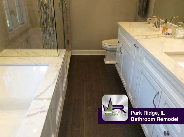 Bathroom Remodel - 609 Austin Ave, Park Ridge, IL 60068 by Regency Home Remodeling