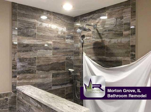 Bathroom Remodel - 5623 Crain St, Morton Grove, IL 60053 by Regency Home Remodeling