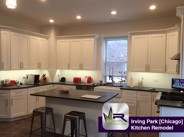 Kitchen and Bathroom remodeling in Irving Park