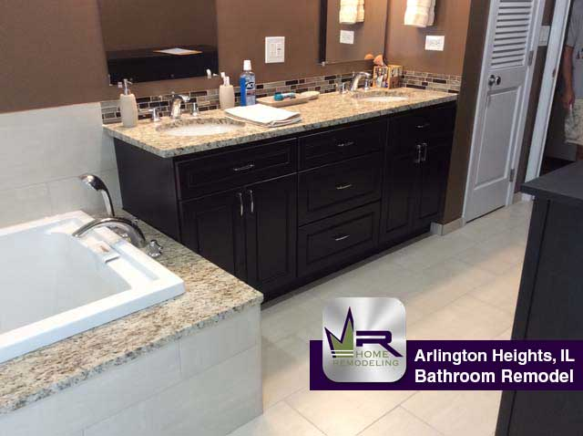 Bathroom remodel in Arlington Heights, IL By Regency