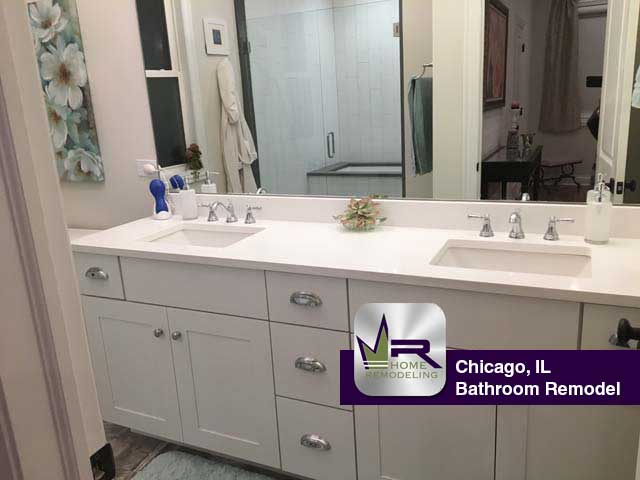 Bathroom Remodel - 3917 N. Mozart St, Chicago, IL 60618 by Regency Home Remodeling