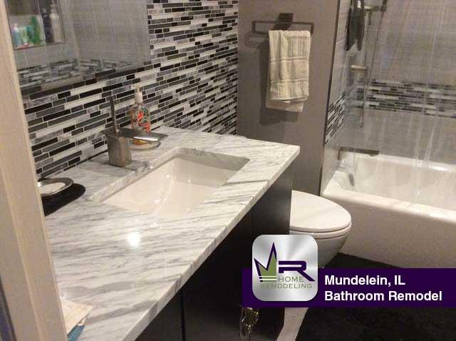 Bathroom Remodel - 203 S Southport Rd, Mundelien, IL 60060 by Regency Home Remodeling