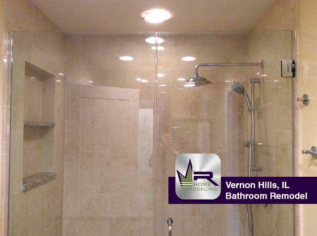 Bathroom remodel in vernon hills il regency home remodeling for Bathroom remodeling pittsburgh north hills