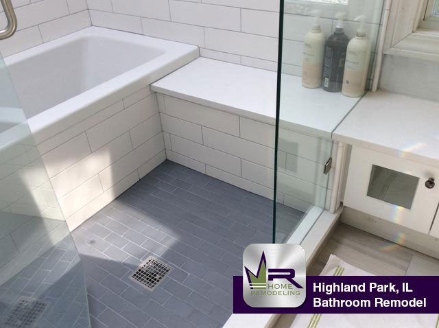 Bathroom remodel in Highland Park, IL by Regency