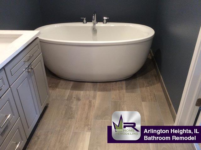 Bathroom Remodel - 512 East Burning Tree Lane, Arlington Heights, IL 60004 by Regency Home Remodeling