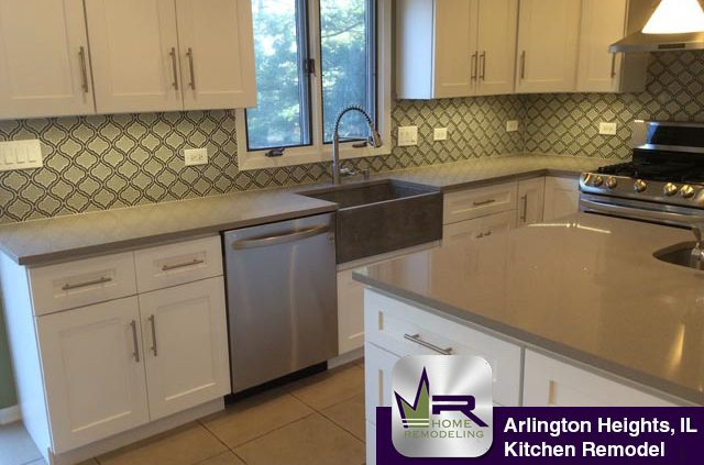 Kitchen Remodel - 512 East Burning Tree Lane, Arlington Heights, IL 60004 by Regency Home Remodeling