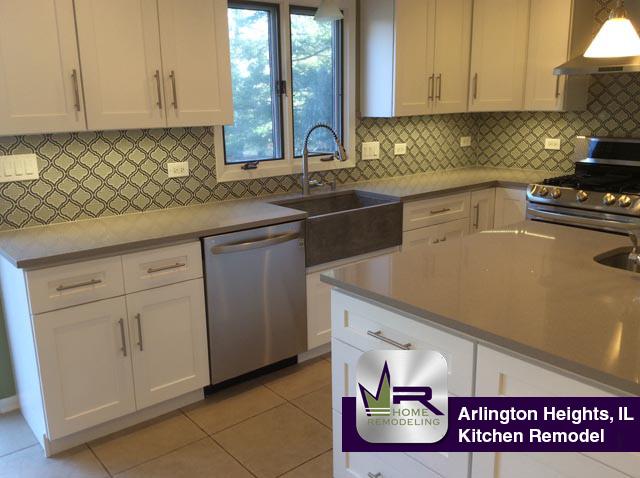 Kitchen Remodel - 512 East Burning Tree Lane, Arlington Heights, IL 60004 by Regency Home Remodeling