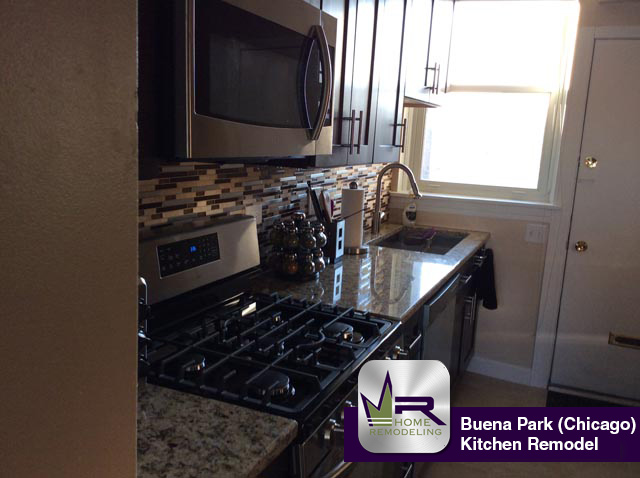 Buena Park Kitchen Remodel - 4146 North Clarendon Ave, Chicago, IL 60613 by Regency Home Remodeling