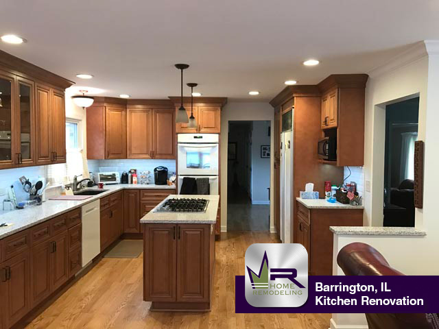 Kitchen Remodel - 315 North Valley Rd, Barrington, IL 60010 by Regency Home Remodeling
