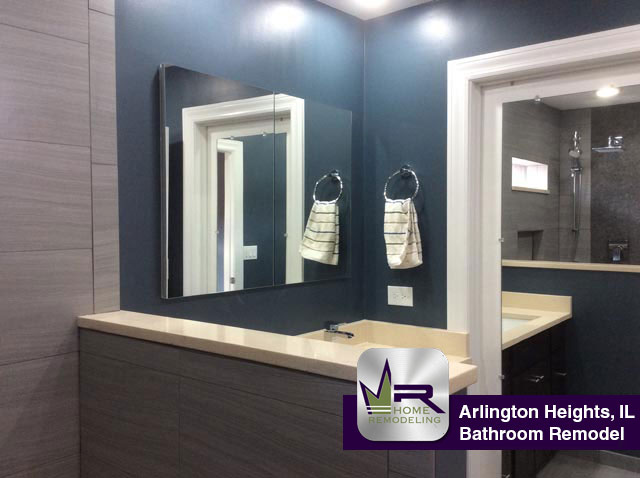 Bathroom Remodel - 1910 E. Crabtree Dr, Arlington Heights, IL 60004 by Regency Home Remodeling