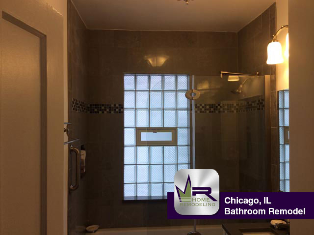 Chicago bathroom makeover regency home remodeling Chicago bathroom remodeling
