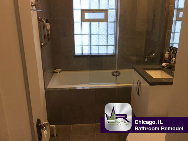 Bathroom Remodel - 2218 N Lamon Ave, Chicago, IL 60639 by Regency Home Remodeling