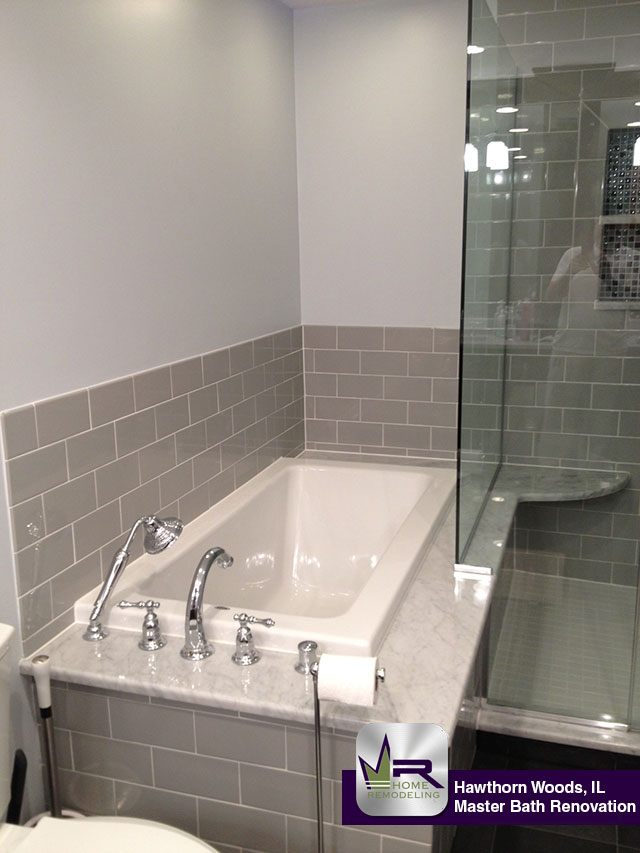Bathroom Remodel - 10 North Bruce Ct, Hawthorn Woods, IL 60047 by Regency Home Remodeling