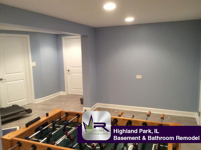 Basement & Bathroom Remodel - 877 Timber Hill Rd, Highland Park, IL 60035 by Regency Home Remodeling