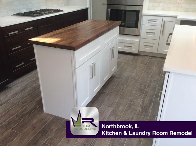Kitchen Remodel - 332 Red Coach Ln, Northbrook, IL 60062 by Regency Home Remodeling