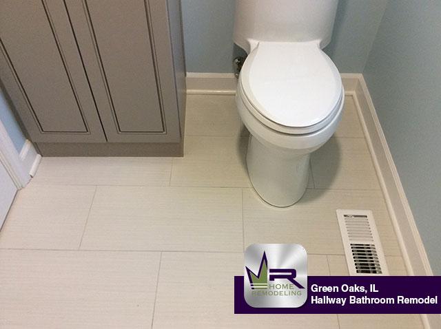 Hallway Bathroom Remodel - 31119 Prairie Ridge Rd, Green Oaks, IL 60048 by Regency Home Remodeling