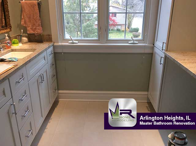 Master Bathroom Remodel - 1234 N Mitchell Ave, Arlington Heights, IL 60004 by Regency Home Remodeling