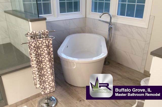Bathroom Remodel - 605 Mayfair Ln, Buffalo Grove, IL 60089 by Regency Home Remodeling