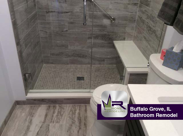 Bathroom Remodel - 740 Thompson Ct, Buffalo Grove, IL 60089 by Regency Home Remodeling