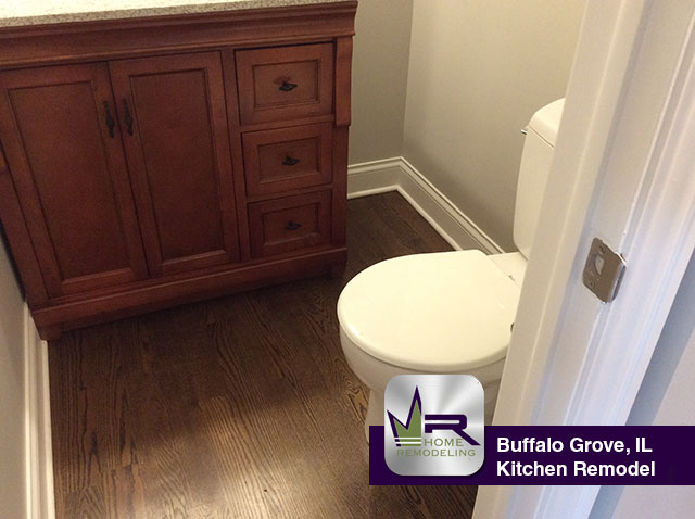 First Floor Remodel - 1 Burnt Ember Ct, Buffalo Grove, IL 60089 by Regency Home Remodeling