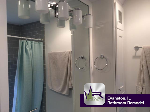 Bathroom Remodel - 1718 Harrison St, Evanston, IL 60201 by Regency Home Remodeling