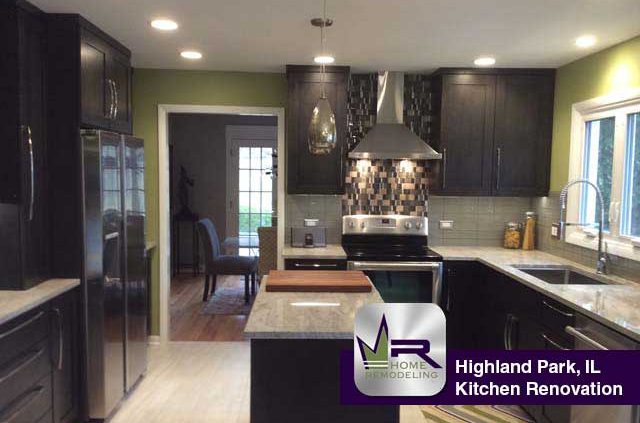 Highland park il archive regency home remodeling for Kitchen design 60035