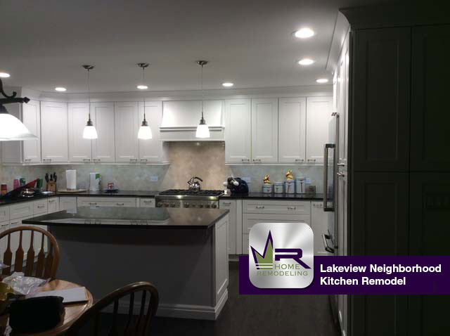 Lakeview Kitchen Remodel - 1318 W. Barry Ave, Chicago, IL 60614 by Regency Home Remodeling