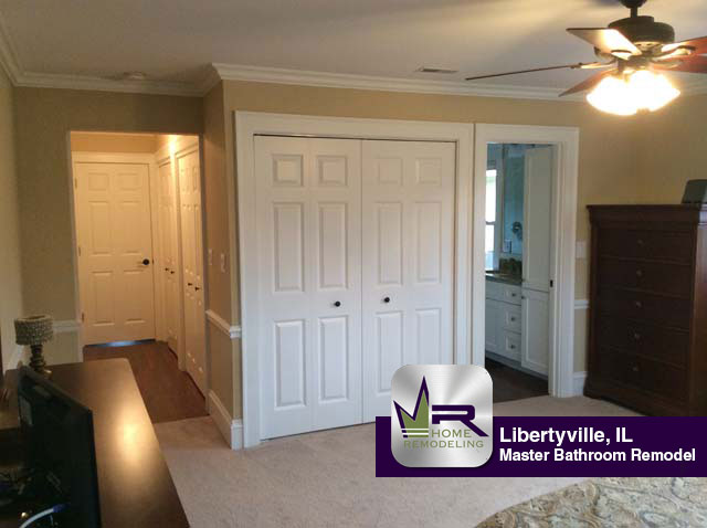 Master Bathroom Remodel - 219 Harding Ave, Libertyville, IL 60048 by Regency Home Remodeling