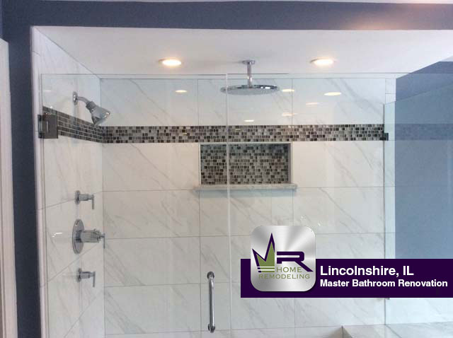 Bathroom Remodel - 35 Portshire Dr, Lincolnshire, IL 60069 by Regency Home Remodeling