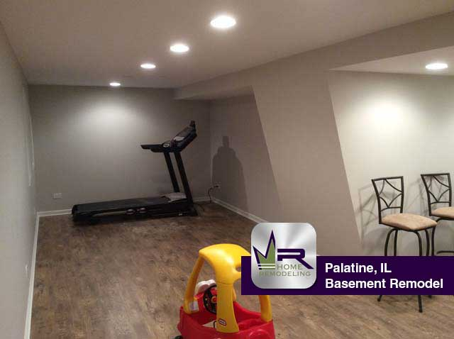 Basement Remodel - 896 West Kelly Ann Dr, Palatine, IL 60067 by Regency Home Remodeling