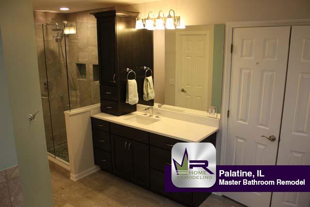 Bathroom Remodel - 1531 W. Edgewater Ln, Palatine, IL 60067 by Regency Home Remodeling