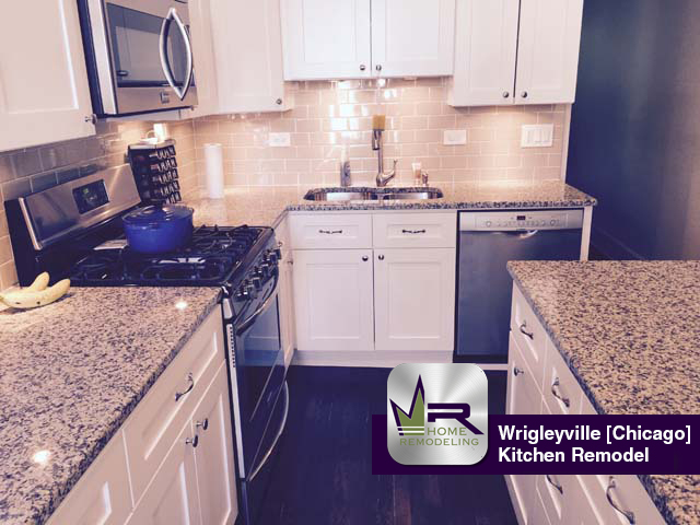 Wrigleyville Kitchen Remodel - 1318 W. Barry Ave, Chicago, IL 60614 by Regency Home Remodeling