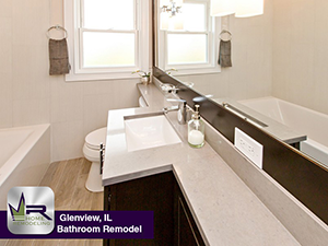 Bathroom Remodel In Glenview IL Regency Home Remodeling - Is it hard to remodel a bathroom