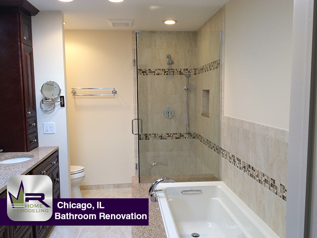 Bathroom Remodel - 1426 W Wrightwood Ave, Chicago, IL 60614 by Regency Home Remodeling