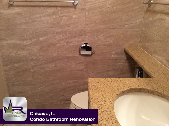 Condo Bathroom Remodel - 6157 N Sheridan Rd,Chicago, IL 60660 by Regency Home Remodeling