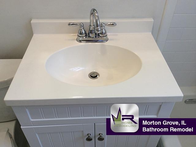 Bathroom Remodel - 9113 N Austin Ave, Morton Grove, IL 60053 by Regency Home Remodeling