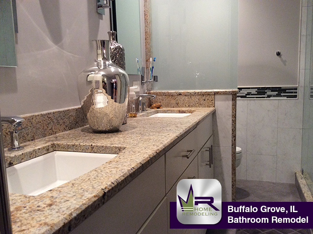 Bathroom Remodel - 308 E Fox Hill Dr, Buffalo Grove, IL 60089 by Regency Home Remodeling