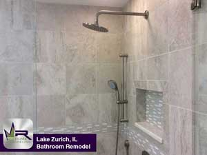 New Bathroom In Elk Grove Village ILRegency Home Remodeling - Daltile elk grove village il